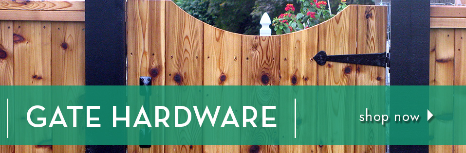 Check Out Gate Hardware at Van Dykes!