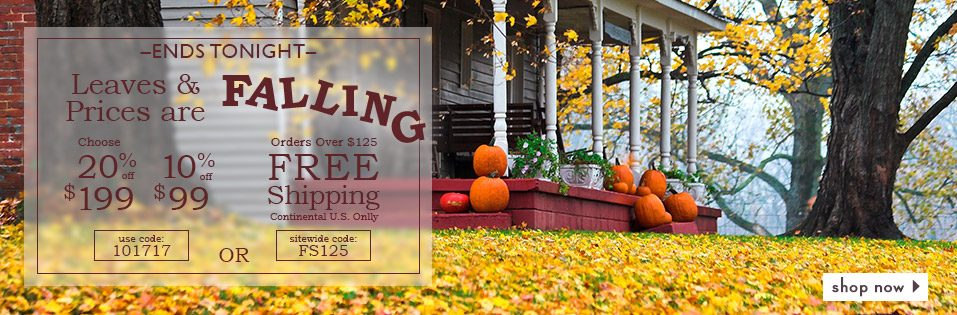 Last Day for Leaves are Falling Sale