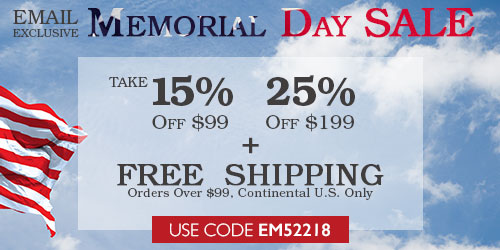 Memorial Day Sale Email!