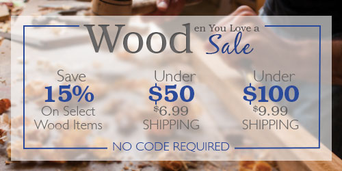 Wooden You Love a Sale!