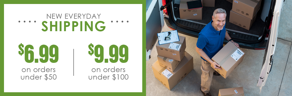 New Everyday Shipping Rates