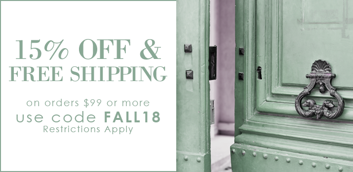 15% Off + Free Shipping Now!