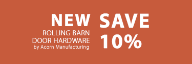 rolling barn door savings