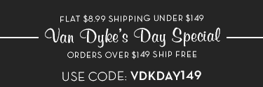 Free Shipping on $149, $8.99 Under $140 with code VDKDAY149