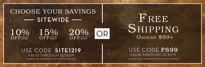 Choose Your Savings!