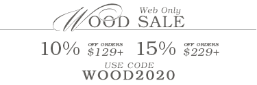 Web Only Wood Sale