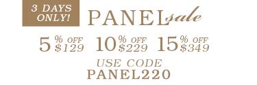 Panel SALE