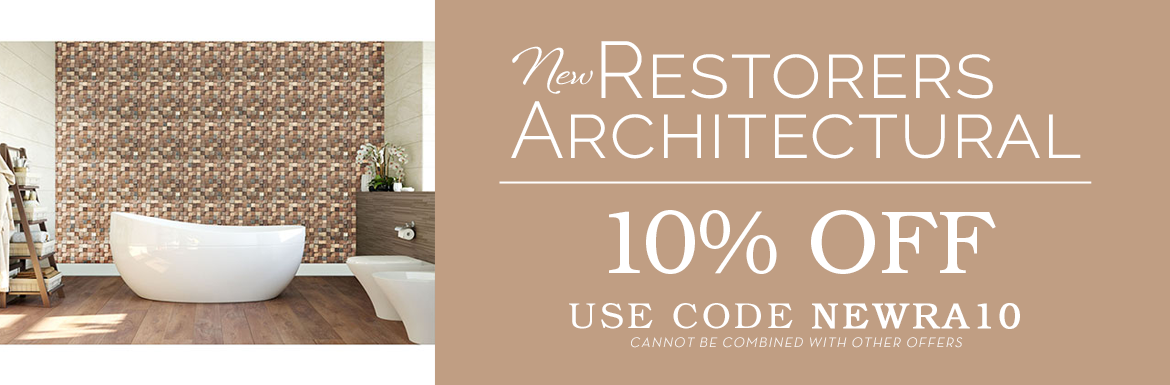 10% Off New Restorer's Architectural with code NEWRA10