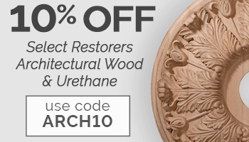 10% Off Restorer's Architectural with code ARCH10