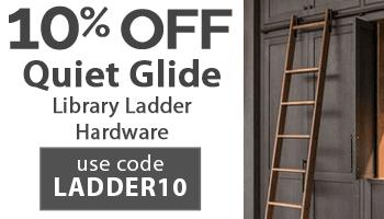 10% Off Quiet Glide with code LADDER10