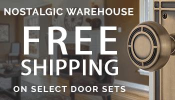 Nostalgic Warehouse Free Shipping on Select Door Sets
