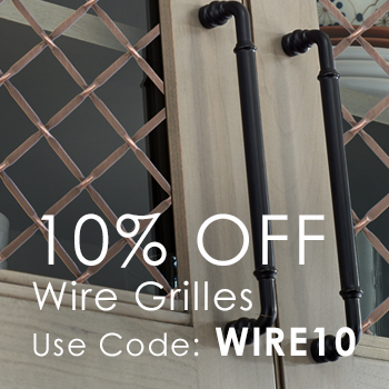 Save 10% on Decorative Wire Grilles with code WIRE10
