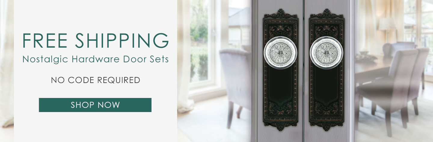 Free Standard Shipping on Select Door Sets!