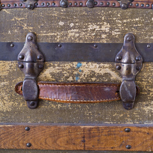 Leather Trunk Handle