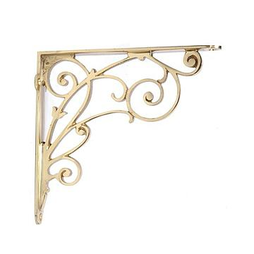 All Metal Shelf Brackets