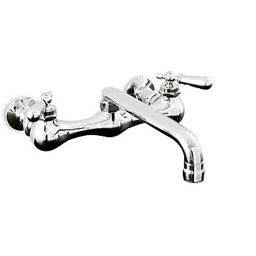 WALL MOUNT BRIDGE KITCHEN FAUCET