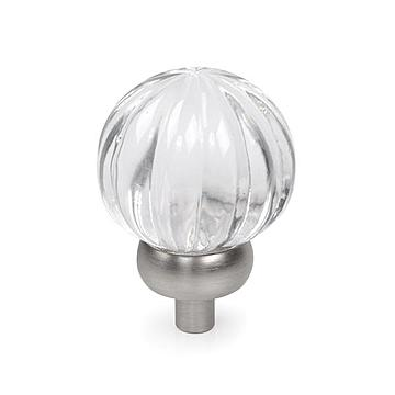 Lewis Dolin Scalloped Glass Knob