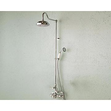 Strom Living Thermostatic Shower Set with Two Shower Heads