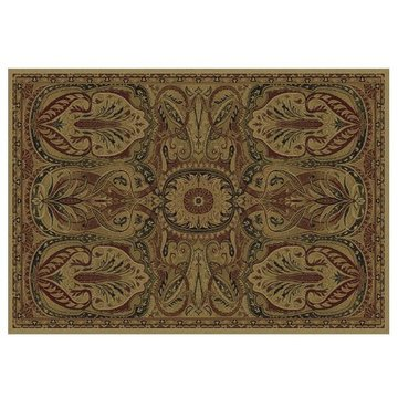 106X710 ANNA BLACK AREA RUG             *DS*