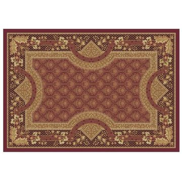106X710 KELSEY BUR- GUNDY AREA RUG  *DS*