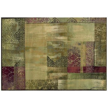 10 ROUND #1527X GENERATIONS AREA RUG *DS*