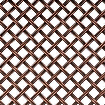 Kent Design DK08 3/8 Flat Fluted Single Crimped Wire Grille 18 x 24