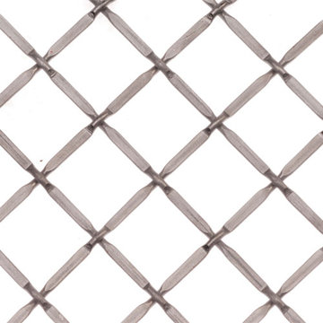 Kent Design 332P 3/4 Round Press Crimp Wire Grille - 36 x 48
