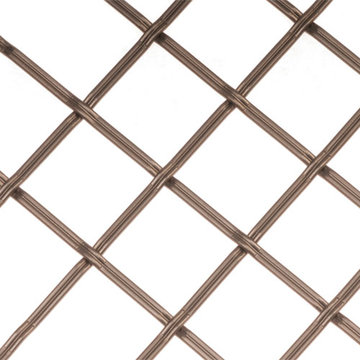 Kent Design 182P 1 Flat Fluted Press Crimp Wire Grille - 36 x 48