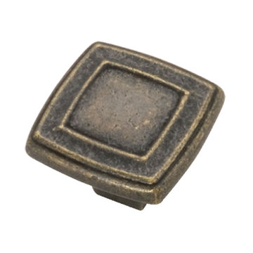 Belwith Keeler Corinth Concentric Square Knob
