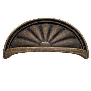 Hickory Hardware Newport Cup Bin Pull