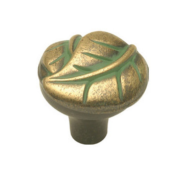 Hickory Hardware Touch Of Spring Leaf Knob