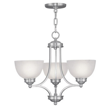Livex Lighting Somerset 3 Up Light Chandelier