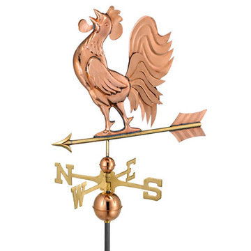 Good Directions Crowing Rooster Full Size Standard Weathervane