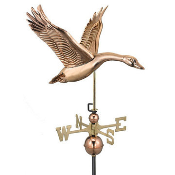 Good Directions Feathered Goose Full Size Standard Weathervane