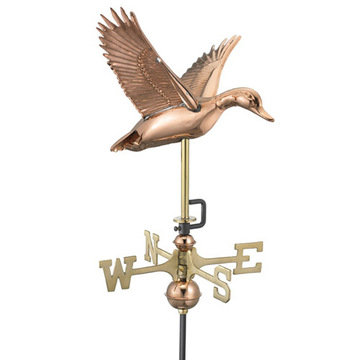 Good Directions Flying Duck Cottage Or Garden Weathervane