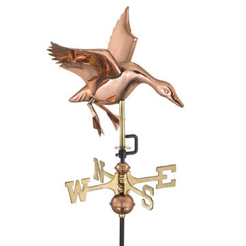 Good Directions Landing Duck Cottage Or Garden Weathervane