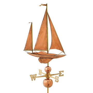 Good Directions Large Sailboat Estate Signature Weathervane