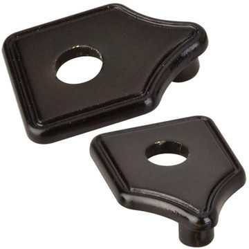 Hardware Resources Cabinet Pull Escutcheon - Pair