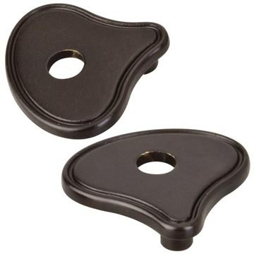 Hardware Resources Delgado And Hudson Cabinet Pull Escutcheon - Pair