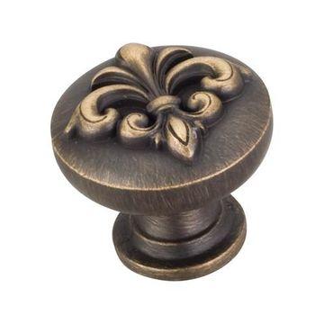hardware resources lafayette fleur de lis cabinet knob