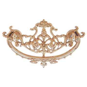 Restorers Classic Victorian Ornate Drawer Bail Pull