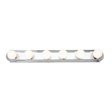 Livex Lighting Bath Basics 6 Light Vanity Light
