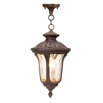 Livex Lighting Oxford 17 1/2 Inch Outdoor Chain Hang Light