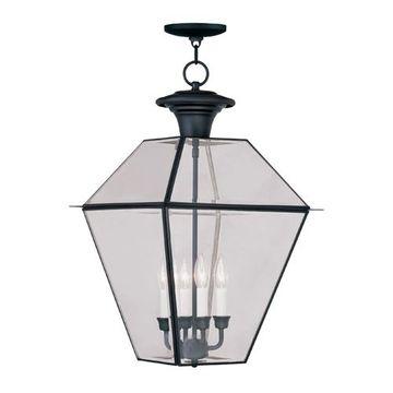 Livex Lighting Westover Outdoor 4 Light Chain Hang Light