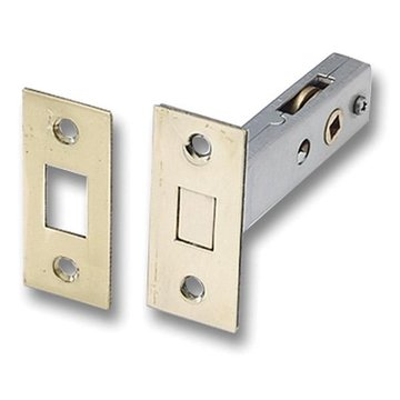 POL BRASS DEADBOLT LATCH PRIVACY LOCK