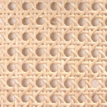 Pre-Woven Cane - 1/2 Inch Mesh 18 INCHES