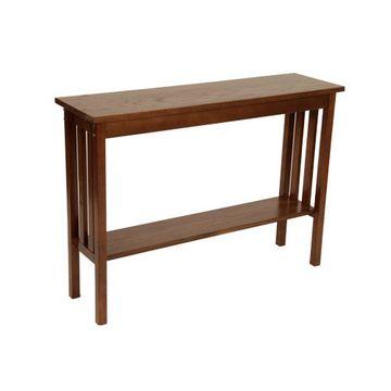Legacy Artisan Dark Oak Mission Sofa Table