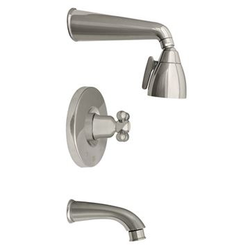 Whitehaus Blairhaus Mckinley Pressure Balance Valve Tub & Shower Faucet Set