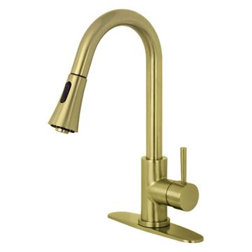 Gourmetier Concord Single Lever Pull Down Kitchen Faucet
