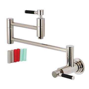 Restorers Concord Wall Mount Kitchen Pot Filler - Lever